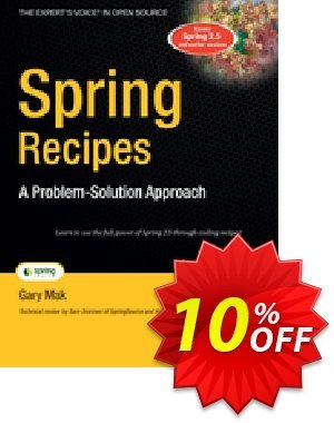 Spring Recipes (Mak) discount coupon Spring Recipes (Mak) Deal - Spring Recipes (Mak) Exclusive Easter Sale offer for iVoicesoft