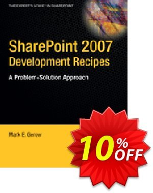 SharePoint 2007 Development Recipes (Gerow) discount coupon SharePoint 2007 Development Recipes (Gerow) Deal - SharePoint 2007 Development Recipes (Gerow) Exclusive Easter Sale offer for iVoicesoft
