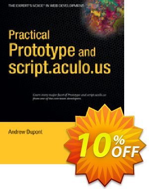 Practical Prototype and script.aculo.us (Dupont) discount coupon Practical Prototype and script.aculo.us (Dupont) Deal - Practical Prototype and script.aculo.us (Dupont) Exclusive Easter Sale offer for iVoicesoft