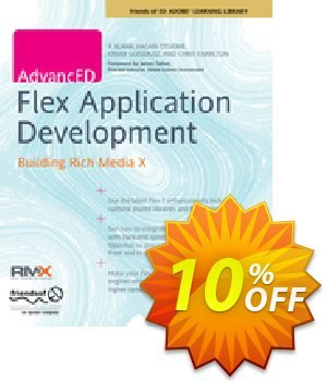 AdvancED Flex Application Development (Charlton) discount coupon AdvancED Flex Application Development (Charlton) Deal - AdvancED Flex Application Development (Charlton) Exclusive Easter Sale offer for iVoicesoft