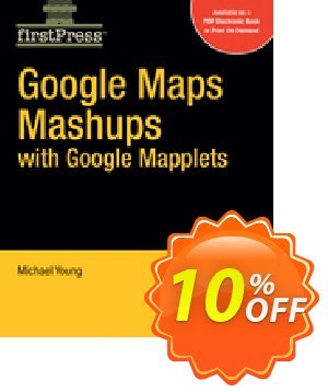 Google Maps Mashups with Google Mapplets (Young) 優惠券,折扣碼 Google Maps Mashups with Google Mapplets (Young) Deal,促銷代碼: Google Maps Mashups with Google Mapplets (Young) Exclusive Easter Sale offer for iVoicesoft