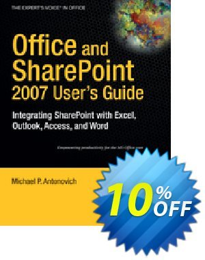 Office and SharePoint 2007 User's Guide (Antonovich) discount coupon Office and SharePoint 2007 User's Guide (Antonovich) Deal - Office and SharePoint 2007 User's Guide (Antonovich) Exclusive Easter Sale offer for iVoicesoft