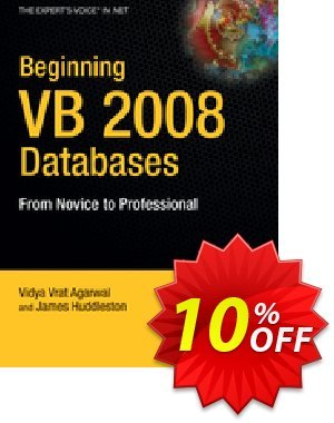 Beginning VB 2008 Databases (Vrat Agarwal) discount coupon Beginning VB 2008 Databases (Vrat Agarwal) Deal - Beginning VB 2008 Databases (Vrat Agarwal) Exclusive Easter Sale offer for iVoicesoft