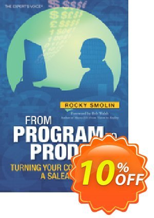 From Program to Product (Smolin) 優惠券,折扣碼 From Program to Product (Smolin) Deal,促銷代碼: From Program to Product (Smolin) Exclusive Easter Sale offer for iVoicesoft