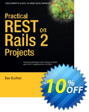 Practical REST on Rails 2 Projects (Scofield) discount coupon Practical REST on Rails 2 Projects (Scofield) Deal - Practical REST on Rails 2 Projects (Scofield) Exclusive Easter Sale offer for iVoicesoft