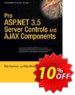 Pro ASP.NET 3.5 Server Controls and AJAX Components (Michalk) discount coupon Pro ASP.NET 3.5 Server Controls and AJAX Components (Michalk) Deal - Pro ASP.NET 3.5 Server Controls and AJAX Components (Michalk) Exclusive Easter Sale offer for iVoicesoft