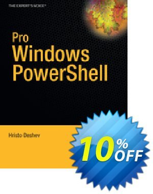 Pro Windows PowerShell (Deshev) discount coupon Pro Windows PowerShell (Deshev) Deal - Pro Windows PowerShell (Deshev) Exclusive Easter Sale offer for iVoicesoft