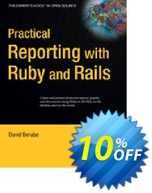 Practical Reporting with Ruby and Rails (Berube) discount coupon Practical Reporting with Ruby and Rails (Berube) Deal - Practical Reporting with Ruby and Rails (Berube) Exclusive Easter Sale offer for iVoicesoft