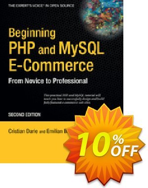 Beginning PHP and MySQL E-Commerce (Darie) Coupon discount Beginning PHP and MySQL E-Commerce (Darie) Deal. Promotion: Beginning PHP and MySQL E-Commerce (Darie) Exclusive Easter Sale offer for iVoicesoft