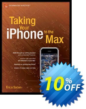 Taking Your iPhone to the Max (Sadun) 優惠券,折扣碼 Taking Your iPhone to the Max (Sadun) Deal,促銷代碼: Taking Your iPhone to the Max (Sadun) Exclusive Easter Sale offer for iVoicesoft