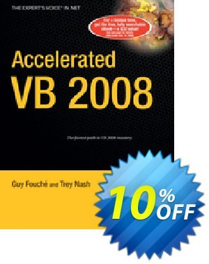 Accelerated VB 2008 (Nash) discount coupon Accelerated VB 2008 (Nash) Deal - Accelerated VB 2008 (Nash) Exclusive Easter Sale offer for iVoicesoft
