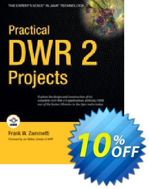 Practical DWR 2 Projects (Zammetti) 프로모션 코드 Practical DWR 2 Projects (Zammetti) Deal 프로모션: Practical DWR 2 Projects (Zammetti) Exclusive Easter Sale offer for iVoicesoft
