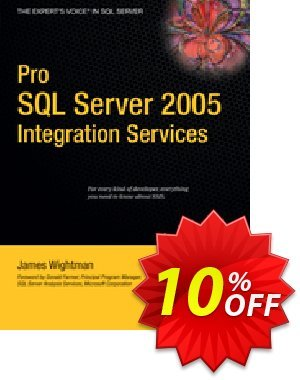 Pro SQL Server 2005 Integration Services (Wightman) discount coupon Pro SQL Server 2005 Integration Services (Wightman) Deal - Pro SQL Server 2005 Integration Services (Wightman) Exclusive Easter Sale offer for iVoicesoft