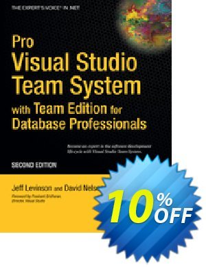 Pro Visual Studio Team System with Team Edition for Database Professionals (Nelson) 프로모션 코드 Pro Visual Studio Team System with Team Edition for Database Professionals (Nelson) Deal 프로모션: Pro Visual Studio Team System with Team Edition for Database Professionals (Nelson) Exclusive Easter Sale offer for iVoicesoft