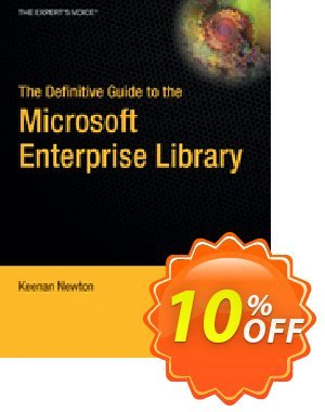 The Definitive Guide to the Microsoft Enterprise Library (Newton) discount coupon The Definitive Guide to the Microsoft Enterprise Library (Newton) Deal - The Definitive Guide to the Microsoft Enterprise Library (Newton) Exclusive Easter Sale offer for iVoicesoft