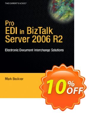 Pro EDI in BizTalk Server 2006 R2 (Beckner) 優惠券,折扣碼 Pro EDI in BizTalk Server 2006 R2 (Beckner) Deal,促銷代碼: Pro EDI in BizTalk Server 2006 R2 (Beckner) Exclusive Easter Sale offer for iVoicesoft
