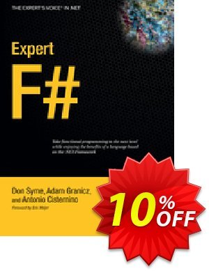 Expert F# (Cisternino) discount coupon Expert F# (Cisternino) Deal - Expert F# (Cisternino) Exclusive Easter Sale offer for iVoicesoft