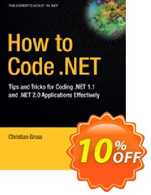 How to Code .NET (Gross) discount coupon How to Code .NET (Gross) Deal - How to Code .NET (Gross) Exclusive Easter Sale offer for iVoicesoft