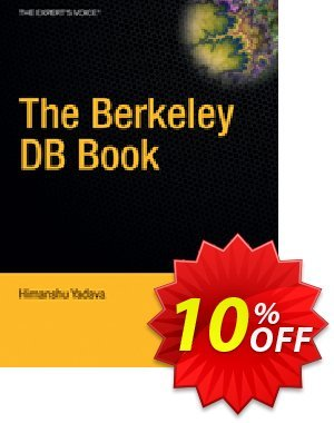 The Berkeley DB Book (Yadava) 프로모션 코드 The Berkeley DB Book (Yadava) Deal 프로모션: The Berkeley DB Book (Yadava) Exclusive Easter Sale offer for iVoicesoft