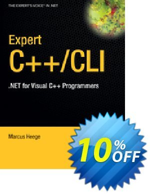 Expert Visual C++/CLI (Heege) discount coupon Expert Visual C++/CLI (Heege) Deal - Expert Visual C++/CLI (Heege) Exclusive Easter Sale offer for iVoicesoft