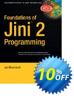 Foundations of Jini 2 Programming (Newmarch) discount coupon Foundations of Jini 2 Programming (Newmarch) Deal - Foundations of Jini 2 Programming (Newmarch) Exclusive Easter Sale offer for iVoicesoft