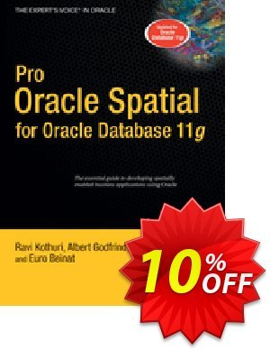 Pro Oracle Spatial for Oracle Database 11g (Kothuri) 프로모션 코드 Pro Oracle Spatial for Oracle Database 11g (Kothuri) Deal 프로모션: Pro Oracle Spatial for Oracle Database 11g (Kothuri) Exclusive Easter Sale offer for iVoicesoft