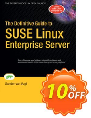 The Definitive Guide to SUSE Linux Enterprise Server (van Vugt) discount coupon The Definitive Guide to SUSE Linux Enterprise Server (van Vugt) Deal - The Definitive Guide to SUSE Linux Enterprise Server (van Vugt) Exclusive Easter Sale offer for iVoicesoft