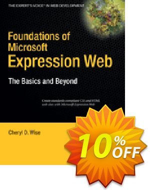 Foundations of Microsoft Expression Web (Wise) discount coupon Foundations of Microsoft Expression Web (Wise) Deal - Foundations of Microsoft Expression Web (Wise) Exclusive Easter Sale offer for iVoicesoft