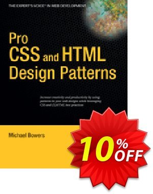 Pro CSS and HTML Design Patterns (Bowers) Coupon discount Pro CSS and HTML Design Patterns (Bowers) Deal. Promotion: Pro CSS and HTML Design Patterns (Bowers) Exclusive Easter Sale offer for iVoicesoft