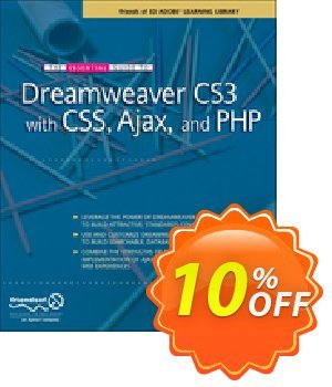 The Essential Guide to Dreamweaver CS3 with CSS, Ajax, and PHP (Powers) discount coupon The Essential Guide to Dreamweaver CS3 with CSS, Ajax, and PHP (Powers) Deal - The Essential Guide to Dreamweaver CS3 with CSS, Ajax, and PHP (Powers) Exclusive Easter Sale offer for iVoicesoft