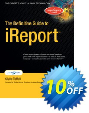 The Definitive Guide to iReport (Toffoli) discount coupon The Definitive Guide to iReport (Toffoli) Deal - The Definitive Guide to iReport (Toffoli) Exclusive Easter Sale offer for iVoicesoft