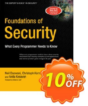 Foundations of Security (Kern) 프로모션 코드 Foundations of Security (Kern) Deal 프로모션: Foundations of Security (Kern) Exclusive Easter Sale offer for iVoicesoft