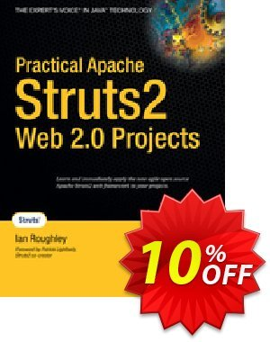 Practical Apache Struts 2 Web 2.0 Projects (Roughley) 프로모션 코드 Practical Apache Struts 2 Web 2.0 Projects (Roughley) Deal 프로모션: Practical Apache Struts 2 Web 2.0 Projects (Roughley) Exclusive Easter Sale offer for iVoicesoft
