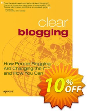 Clear Blogging (Walsh) 프로모션 코드 Clear Blogging (Walsh) Deal 프로모션: Clear Blogging (Walsh) Exclusive Easter Sale offer for iVoicesoft