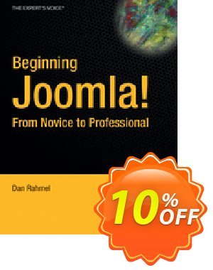 Beginning Joomla! (Rahmel) discount coupon Beginning Joomla! (Rahmel) Deal - Beginning Joomla! (Rahmel) Exclusive Easter Sale offer for iVoicesoft