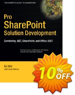 Pro SharePoint Solution Development (Hild) discount coupon Pro SharePoint Solution Development (Hild) Deal - Pro SharePoint Solution Development (Hild) Exclusive Easter Sale offer for iVoicesoft