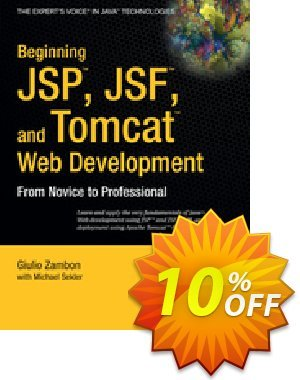 Beginning JSP , JSF and Tomcat Web Development (Zambon) discount coupon Beginning JSP , JSF and Tomcat Web Development (Zambon) Deal - Beginning JSP , JSF and Tomcat Web Development (Zambon) Exclusive Easter Sale offer for iVoicesoft