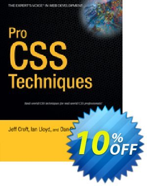 Pro CSS Techniques (Rubin) discount coupon Pro CSS Techniques (Rubin) Deal - Pro CSS Techniques (Rubin) Exclusive Easter Sale offer for iVoicesoft