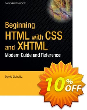 Beginning HTML with CSS and XHTML (Cook) discount coupon Beginning HTML with CSS and XHTML (Cook) Deal - Beginning HTML with CSS and XHTML (Cook) Exclusive Easter Sale offer for iVoicesoft