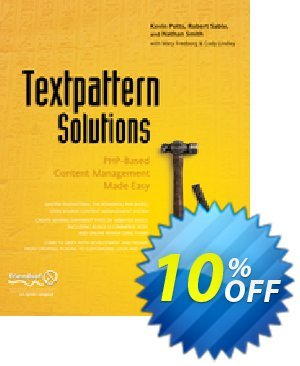 Textpattern Solutions (Lindley) discount coupon Textpattern Solutions (Lindley) Deal - Textpattern Solutions (Lindley) Exclusive Easter Sale offer for iVoicesoft