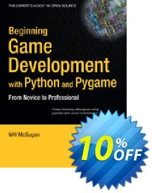 Beginning Game Development with Python and Pygame (McGugan) 프로모션 코드 Beginning Game Development with Python and Pygame (McGugan) Deal 프로모션: Beginning Game Development with Python and Pygame (McGugan) Exclusive Easter Sale offer for iVoicesoft