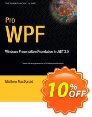 Pro WPF (MacDonald) 優惠券,折扣碼 Pro WPF (MacDonald) Deal,促銷代碼: Pro WPF (MacDonald) Exclusive Easter Sale offer for iVoicesoft