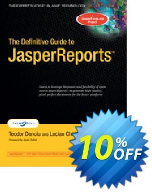 The Definitive Guide to JasperReports (Danciu) discount coupon The Definitive Guide to JasperReports (Danciu) Deal - The Definitive Guide to JasperReports (Danciu) Exclusive Easter Sale offer for iVoicesoft