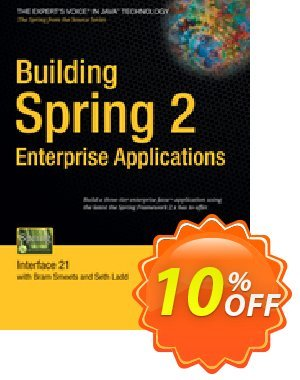 Building Spring 2 Enterprise Applications (Ladd) discount coupon Building Spring 2 Enterprise Applications (Ladd) Deal - Building Spring 2 Enterprise Applications (Ladd) Exclusive Easter Sale offer for iVoicesoft