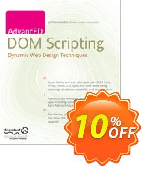 AdvancED DOM Scripting (Sambells) discount coupon AdvancED DOM Scripting (Sambells) Deal - AdvancED DOM Scripting (Sambells) Exclusive Easter Sale offer for iVoicesoft