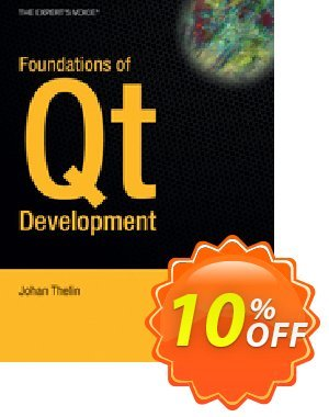 Foundations of Qt Development (Thelin) 優惠券,折扣碼 Foundations of Qt Development (Thelin) Deal,促銷代碼: Foundations of Qt Development (Thelin) Exclusive Easter Sale offer for iVoicesoft
