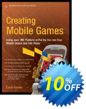 Creating Mobile Games (Hamer) 프로모션 코드 Creating Mobile Games (Hamer) Deal 프로모션: Creating Mobile Games (Hamer) Exclusive Easter Sale offer for iVoicesoft