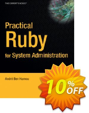 Practical Ruby for System Administration (Ben-Hamou) 優惠券,折扣碼 Practical Ruby for System Administration (Ben-Hamou) Deal,促銷代碼: Practical Ruby for System Administration (Ben-Hamou) Exclusive Easter Sale offer for iVoicesoft