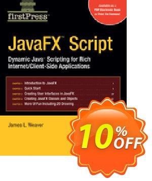 JavaFX Script (Weaver) discount coupon JavaFX Script (Weaver) Deal - JavaFX Script (Weaver) Exclusive Easter Sale offer for iVoicesoft