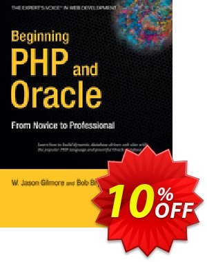 Beginning PHP and Oracle (Gilmore) 프로모션 코드 Beginning PHP and Oracle (Gilmore) Deal 프로모션: Beginning PHP and Oracle (Gilmore) Exclusive Easter Sale offer for iVoicesoft